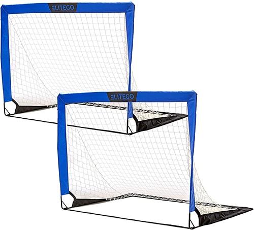 EliteGo Portable Soccer Goals