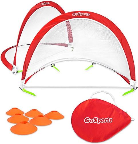 GoSports Foldable Pop Up Soccer Goal Nets