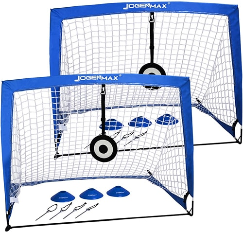 Jogenmax Portable Soccer Goals