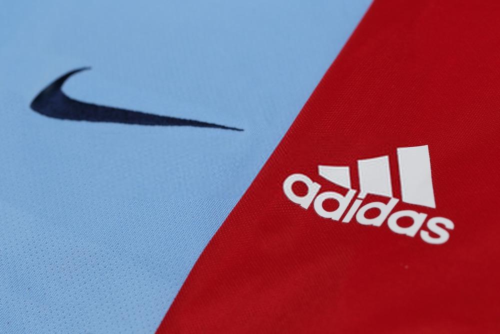 Nike and Adidas logo's