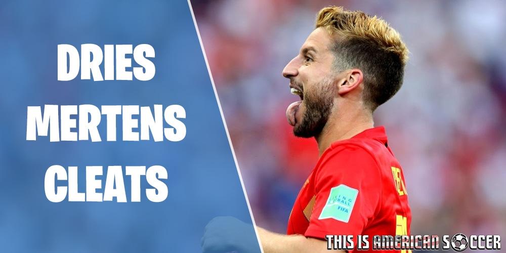 Dries Mertens soccer cleats