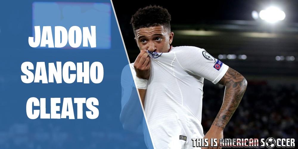 Jadon Sancho soccer cleats
