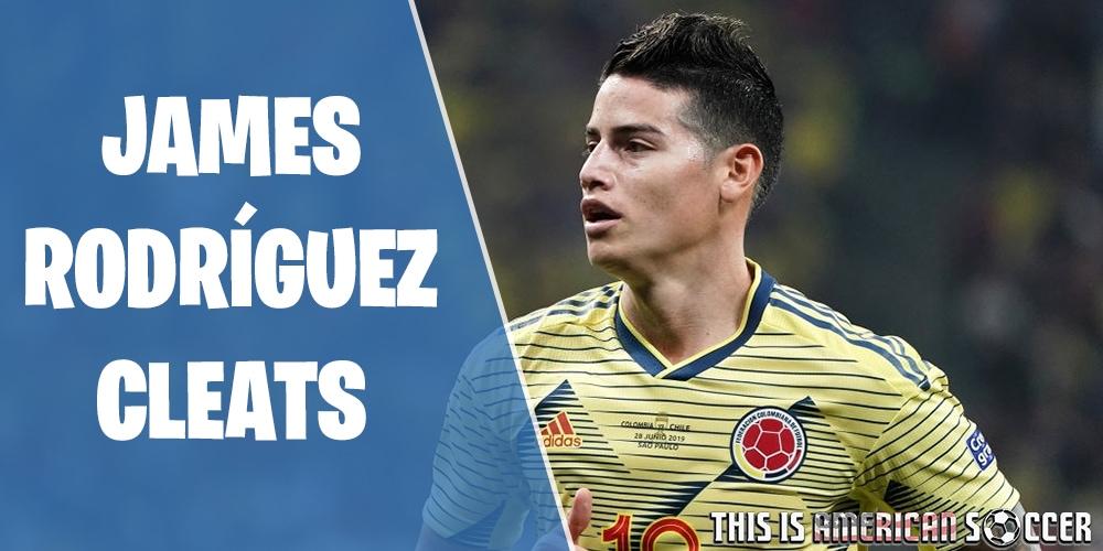 James Rodríguez soccer cleats