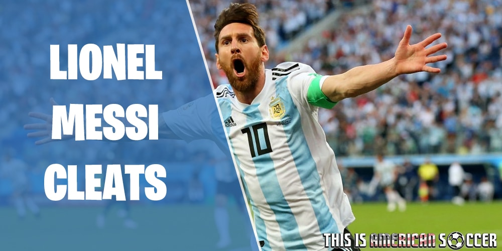 Lionel Messi soccer cleats